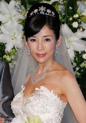 川島なお美さんご結婚時の写真