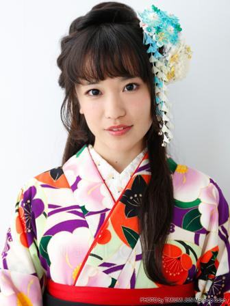 袴髪型小学生ヘアスタイルロング